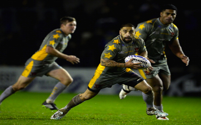 (Video) Unbelievable! Salford Red Devils star Rangi Chase pulls off best try assist you're ever likely to see
