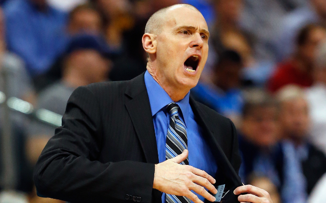 (Video) NBA news: Dallas Mavericks coach Rick Carlisle puts tape over mouth to avoid criticising referees