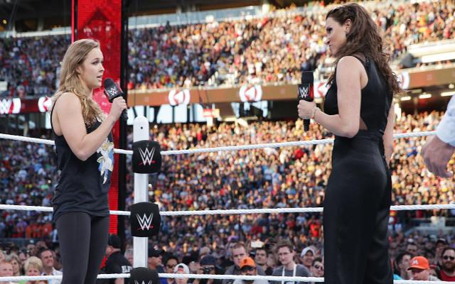 Ronda Rousey WrestleMania b