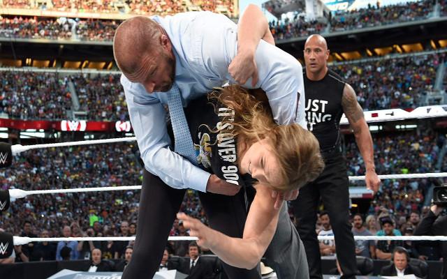 Ronda Rousey WrestleMania c
