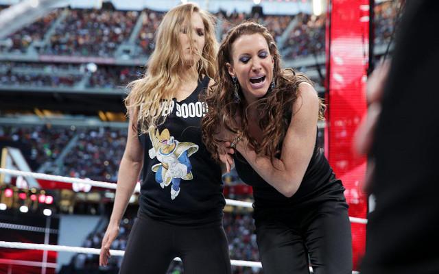 Ronda Rousey WrestleMania d