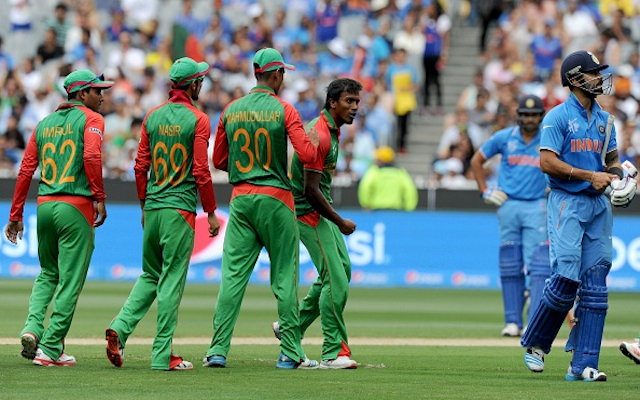 (Video) TENSION! Banglasesh quick Rubel Hossain gets revenge against India skipper Virat Kohli!