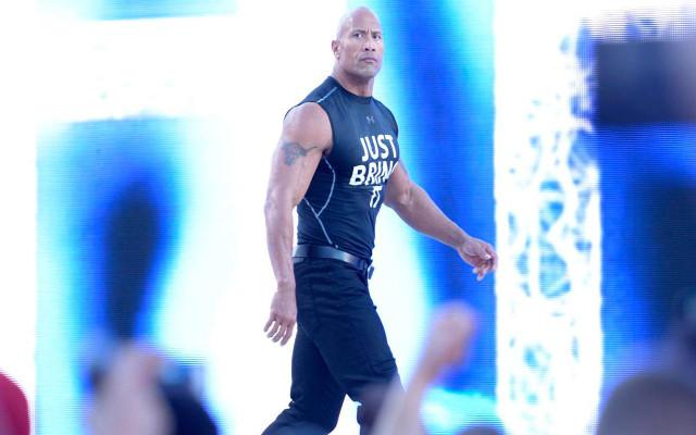 The Rock WrestleMania a