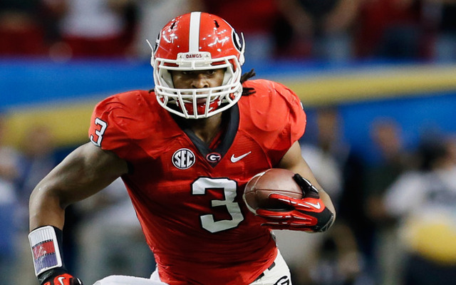 Detroit Lions meeting with injured Georgia RB Todd Gurley before draft