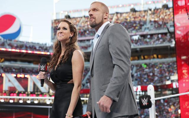 Triple H and Stephanie WM