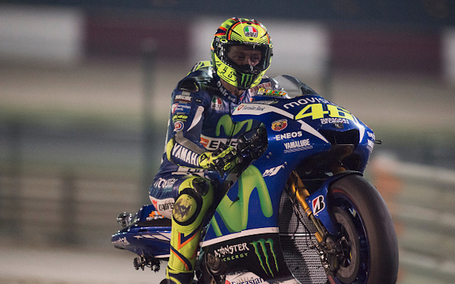 (Video) MotoGP: Valentino Rossi holds off Andrea Dovizioso in thrilling Qatar GP