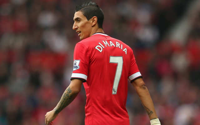 Louis Van Gaal can't promise to keep Angel Di Maria at Manchester United next season