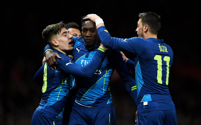 Arsenal player ratings vs Manchester United: Francis Coquelin and Santi Cazorla star as Gunners blast into FA Cup final four