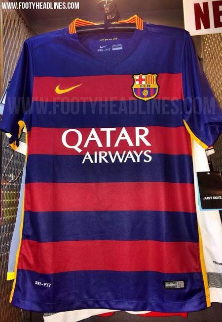 barcelona 15-16 home kit