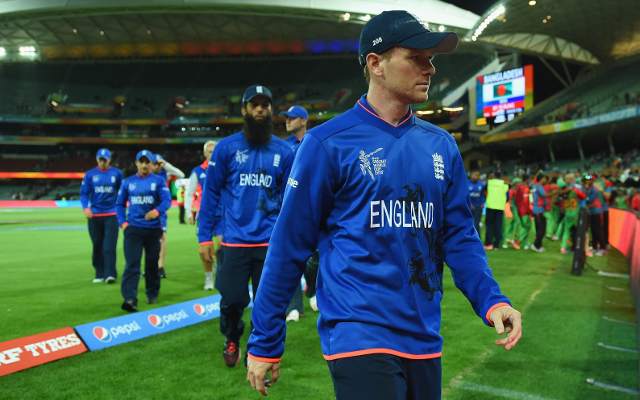 England captain Eoin Morgan and coach Peter Moores must be sacked immediately