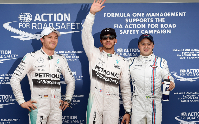 Lewis Hamilton takes pole in Melbourne, whilst McLaren qualify LAST