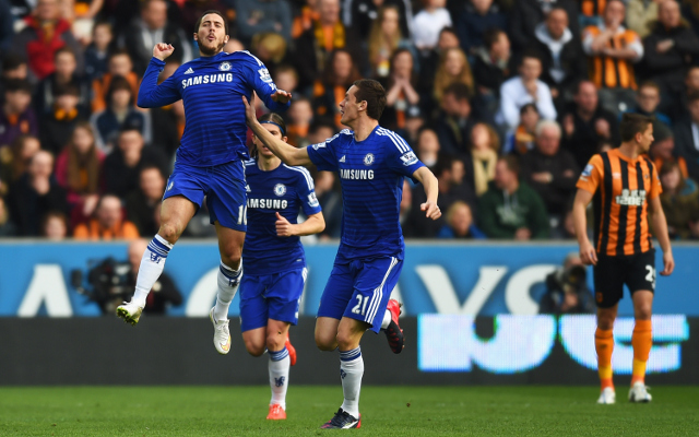 Chelsea player ratings vs Hull City: Eden Hazard brilliant and Thibaut Courtois at fault for Tigers goal
