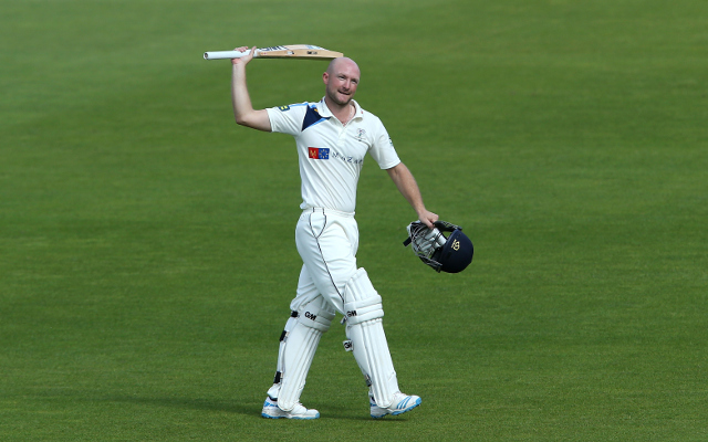 Yorkshire batsman reveals moment that he knew of England call up