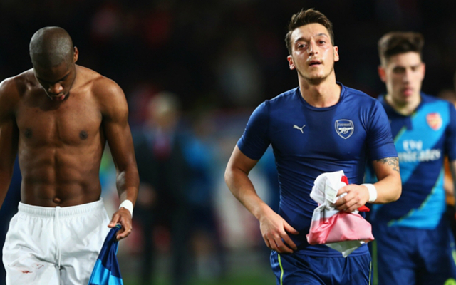 Mesut Ozil defends Monaco/Arsenal shirt swapping controversy
