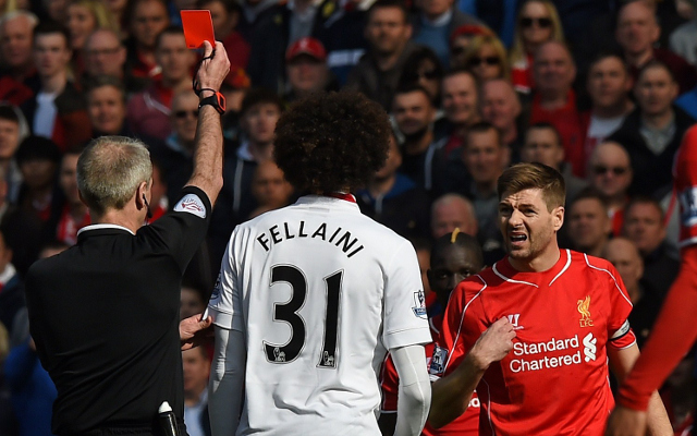 Liverpool legend Steven Gerrard offers heartfelt apology after SHOCKING red card against Man United