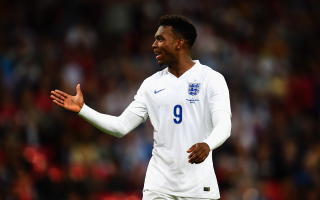 Liverpool striker Daniel Sturridge ruled out of England squad