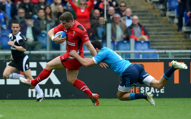 (Video) Cory Allen stars as Wales thrash Uruguay in Rugby World Cup opener