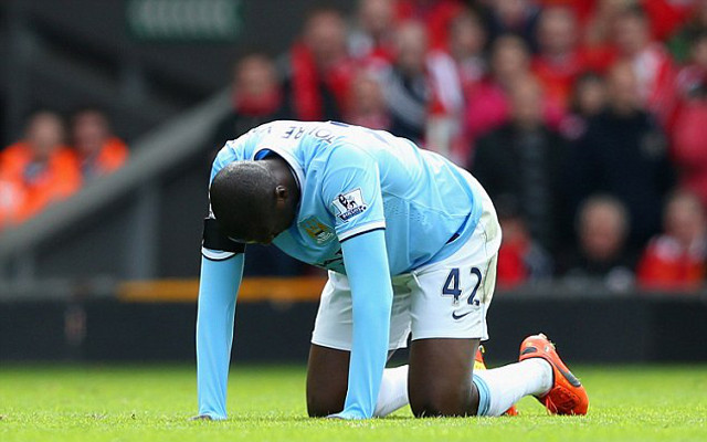 Yaya Toure refuses to be forced out of Manchester City