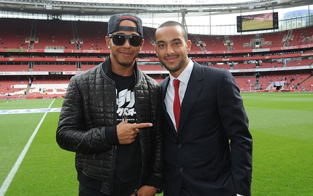 (Video) Lewis Hamilton: I'm an Arsenal fan but only because my sister beat me up