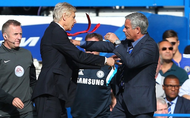 (Video) Cheeky journalist asks Jose Mourinho how hard he was pushed by Arsene Wenger