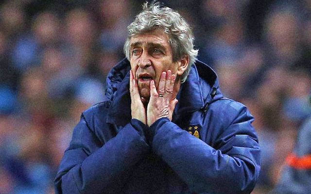Manuel Pellegrini fears Man City sack if they miss out on Champions League
