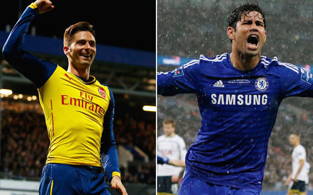 Arsenal striker better than Chelsea's Diego Costa claims Sky Sports pundit