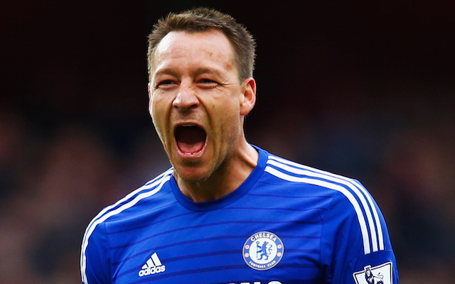 Chelsea's John Terry now joint highest scoring defender in Premier League history: Blues skipper joined by former Arsenal captain in top five