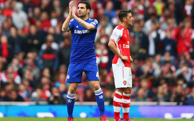 Chelsea's Cesc Fabregas thanks Arsenal fans for cheers, despite being majorly BOOED