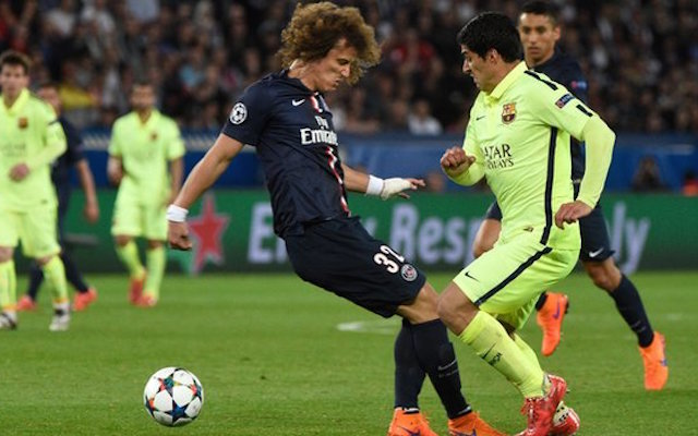 David Luiz, Luis Suarez, Barcelona, Paris Saint Germain