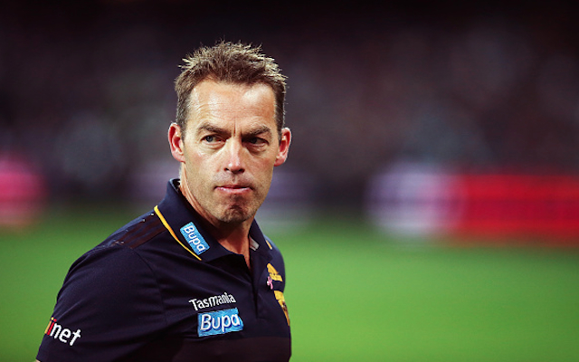 Hawthorn coach Alastair Clarkson says he regrets physical encounter with Port Adelaide fan