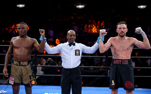 (Video) Boxing: Andy Lee fights back to claim draw with Peter Quillin
