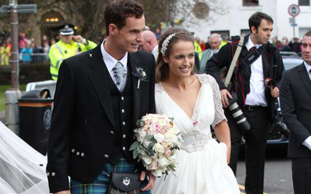 (Images) Tennis star Andy Murray and Kim Sears get married at Dunblane Cathedral