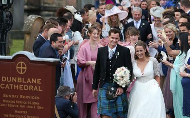 Andy Murray wedding 2