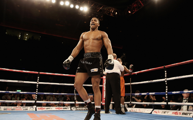 Boxing news: Anthony Joshua makes request to Wladimir Klitschko (video)