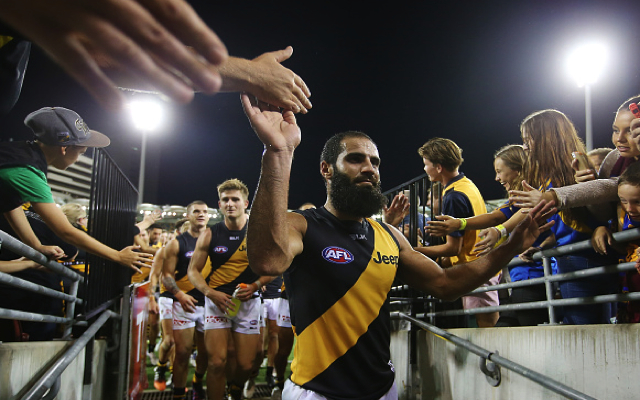 Bachar Houli: 3AW's John Burns says he does not recall labelling Richmond player a 'terrorist'