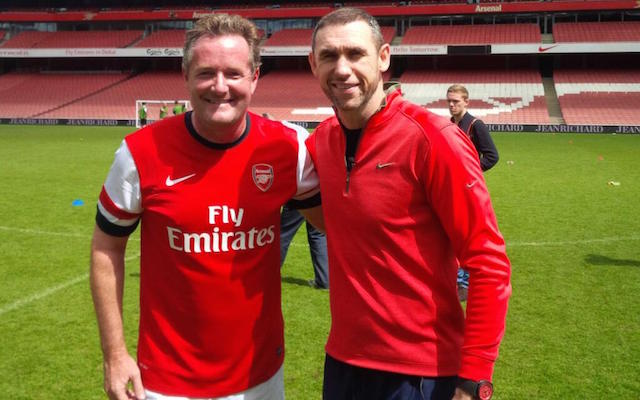 Arsenal's Aaron Ramsey refuses Piers Morgan handshake after Chelsea draw