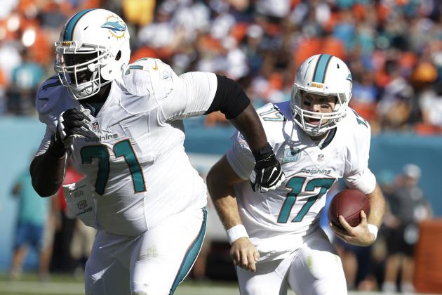 Dolphins OT Branden Albert using boxing to recover from ACL tear