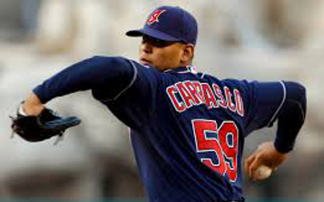 Cleveland Indians give SP Carlos Carrasco three-year contract extension
