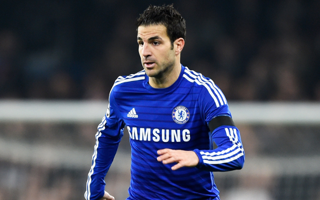 Video: Cesc Fabregas dive – Chelsea star disgusts Arsenal fans by trying to cheat his former club