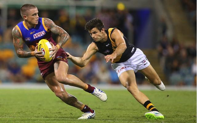 Brisbane Lions midfielder suffers freakish poolside injury