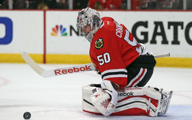 NHL Playoffs: Chicago Blackhawks blow 3-0 lead, but beat Minnesota Wild 4-3 to take Game 1