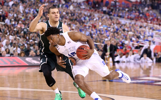 (Video) NCAA March Madness: Duke halts Michigan State's underdog run to advance to NCAA Championship