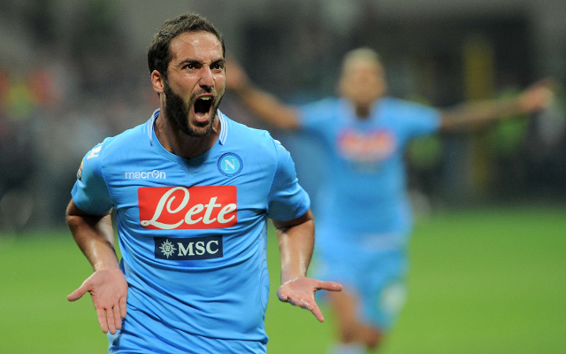 Chelsea, Arsenal and Red Devils confirm interest in Gonzalo Higuain