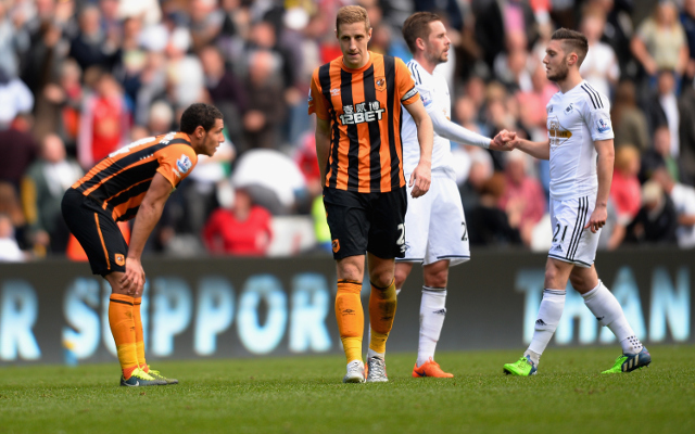(Video) Swansea City 3-1 Hull City Premier League Highlights: Bafetimbi Gomis nets beauty in Swans win