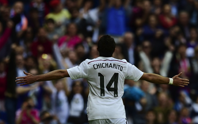 (Video) Javier Hernandez goal sees Real Madrid past Atletico Madrid and into Champions League semi-finals