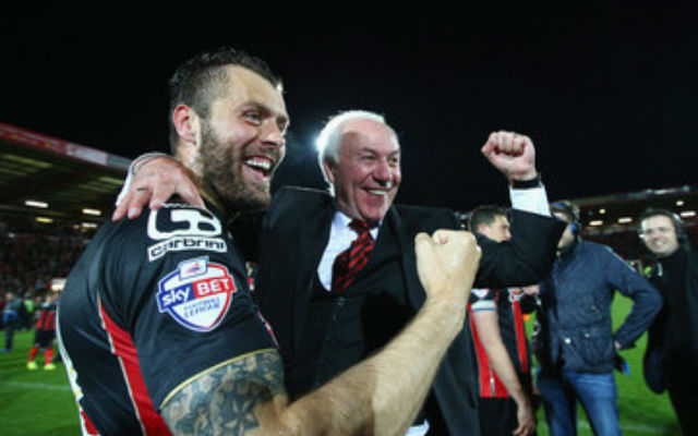 (Video) Bournemouth chairman Jeff Mostyn celebrates promotion to the Premier League in hilarious style