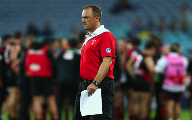 Sydney Swans coach John Longmire calls for increased security following Alastair Clarkson incident