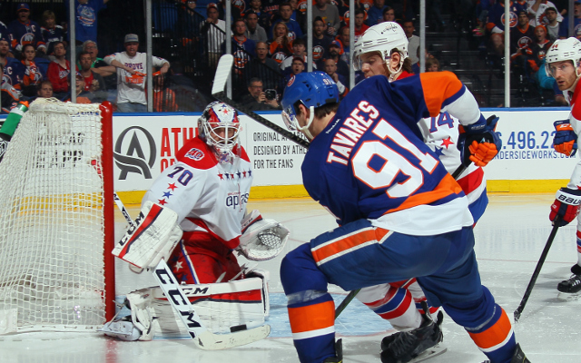 NHL Playoffs 2015: New York Islanders instantly score in overtime to win Game 3 over Washington Capitals