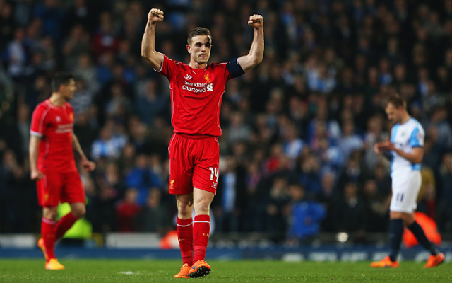 Liverpool star plays Blackburn FA Cup tie despite birth of second child