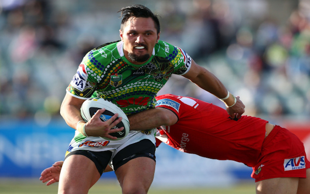 Jordan Rapana: Canberra Raiders receive major boost with re-signing of star winger